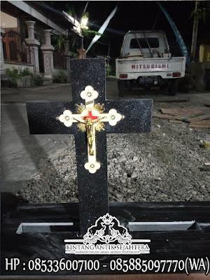 Makam Granit Kristen Model Eropa, Model Makam Kristen Minimalis, Makam Granit