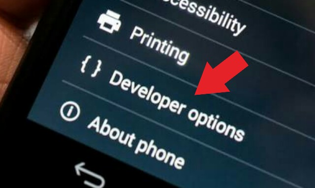 Cara Mengaktifkan Menu Developer Option Di Android