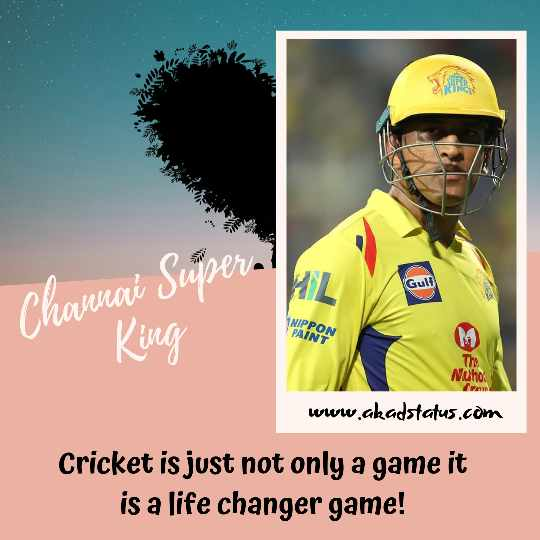 Ipl quotes, dhoni Quotes, csk Quotes, csk images, channai Super king hd image