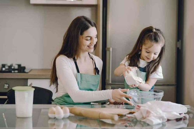 Cooking-with-child