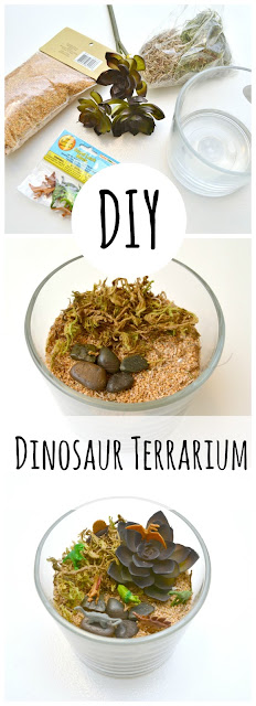 dinosaur terrarium craft for kids