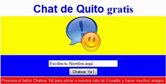 chat ecuador