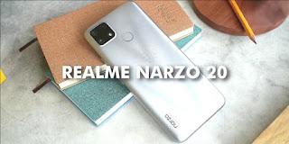 Rekomendasi HP 2 Jutaan 2021 Realme Narzo 20
