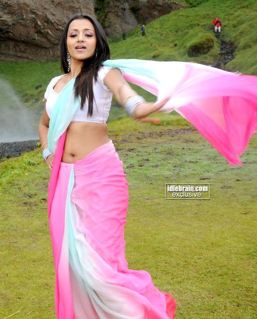 KOLLYWOOD MIRCHI: Trisha Krishnan Hot Deep Navel Show In
