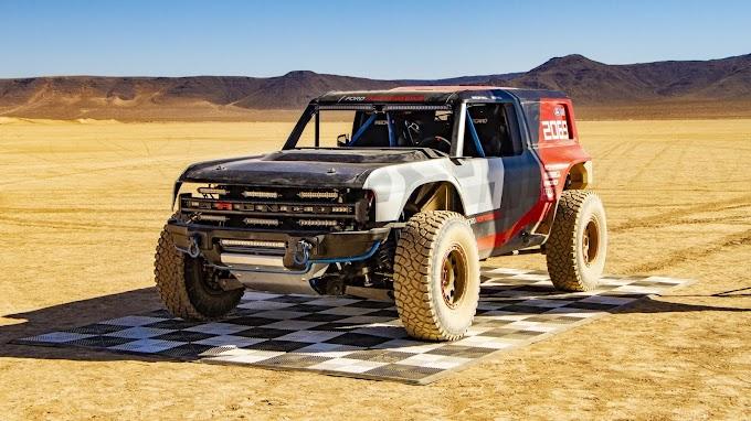 Carro  de Corrida Ford Bronco R