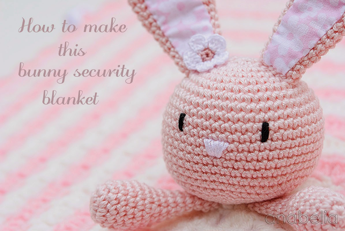 Bunny security blanket by Anabelia
