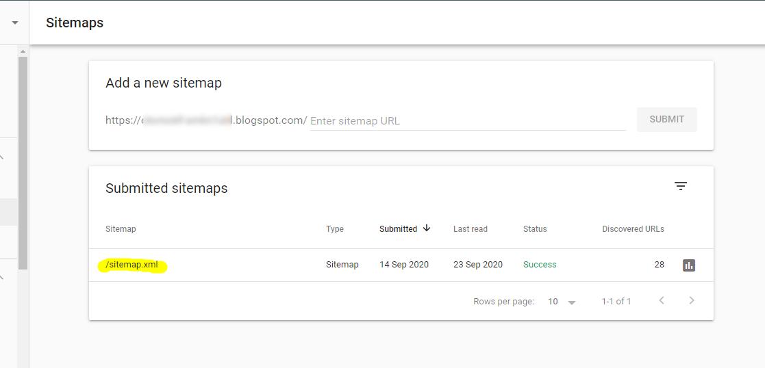 Beberapa Cara daftar dan Submit Sitemap (Peta Situs) ke Google Webmasters Tools