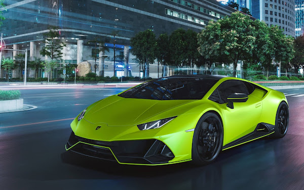 Lamborghini Huracan Evo 2021 ganha versão