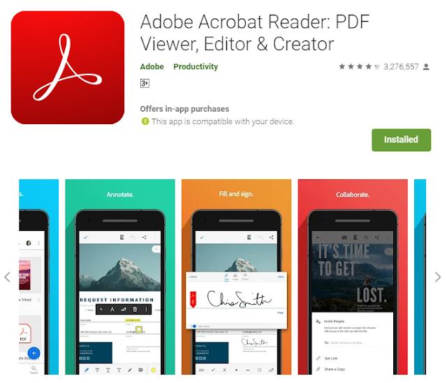 Aplikasi PDF Android Terbaik