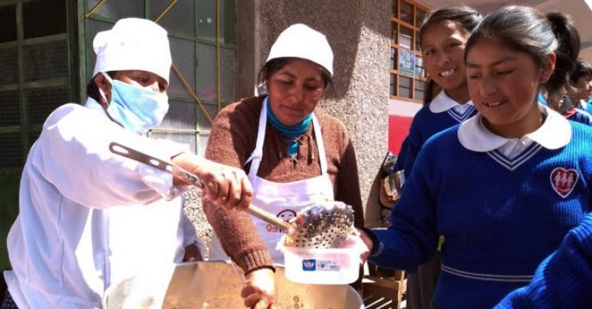 QALI WARMA: Programa Social inició atención a más de 5 mil estudiantes de II.EE. con Jornada Escolar Completa en Puno - www.qaliwarma.gob.pe