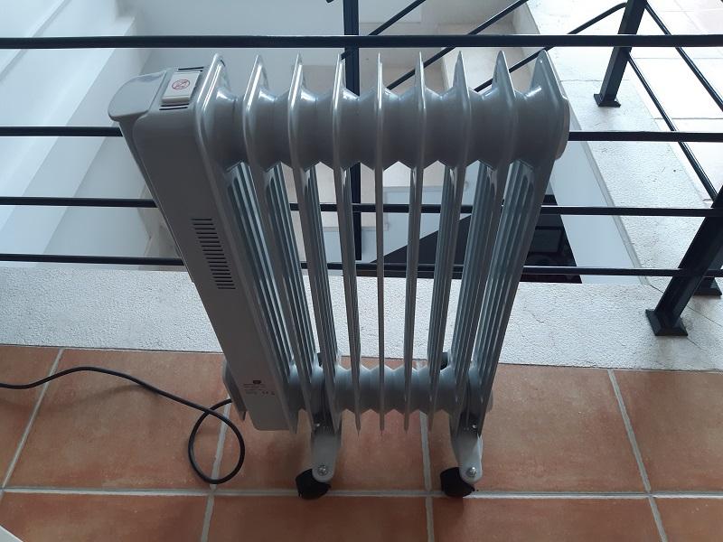 DOKKY, il termosifone elettrico con le ruote