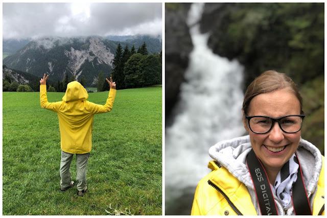 Regen Herbst Wandern Schladming Jules kleines Freudenhaus