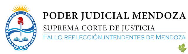 Fallo completo reelección de intendentes de Mendoza