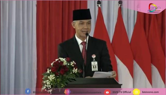 Ganjar Melantik 17 Bupati dan Wakil Bupati, Walikota dan Wakil Walikota di Jawa Tengah