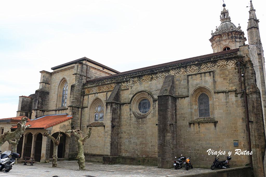 Iglesia Santa María de la Asunción y del Manzano de Hondarribia