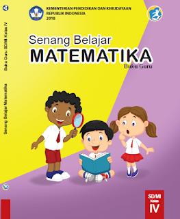 Buku Matematika K13 Revisi 2018 Guru Kelas 4
