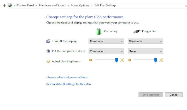 Prevent windows 10 waking from sleep control panel preview
