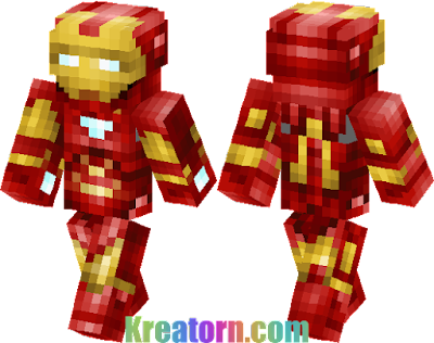 Minecraft Iron Man Skin
