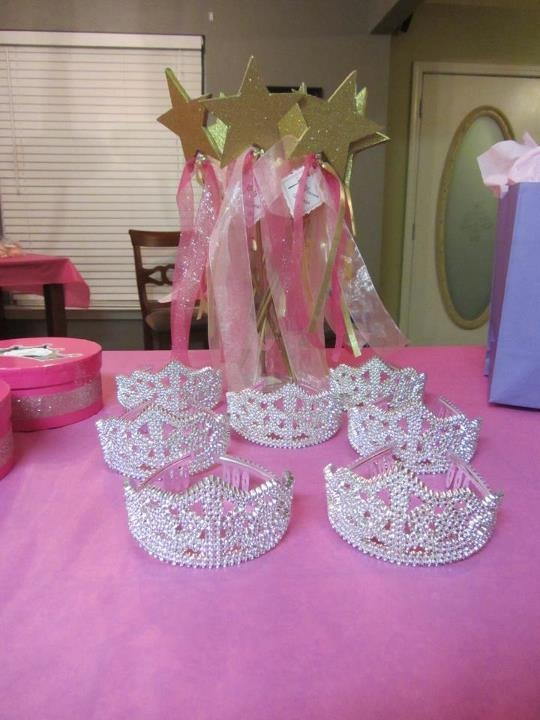 Ejemplos de varitas para un cumple Princesas
