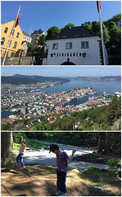 A cruise stop in Bergen, Norway