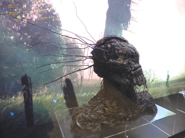 A Monster Calls tree creature face model