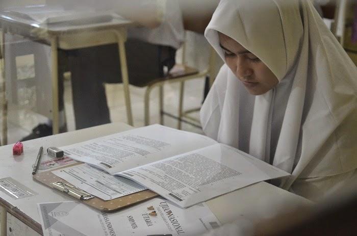 UN SMP di Aceh Utara Aman