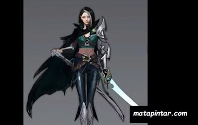 Hero Katana Female Assassin