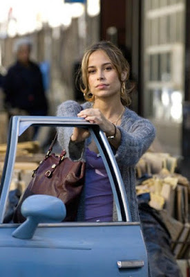 Zulay Henao posing for a photo in the car