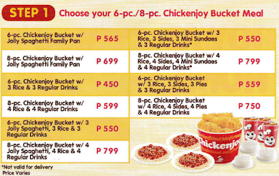 Food Packages for Jollibee Party - Joy at Home Bundle