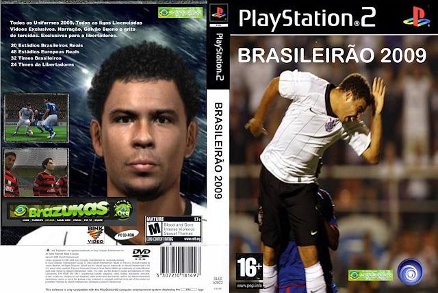 Capa Brasileirão 2009 PS2