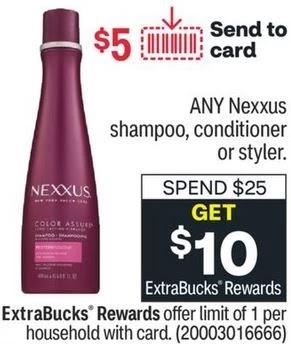 Cheap Nexxus Shampoo CVS Deal 7/18-7/24