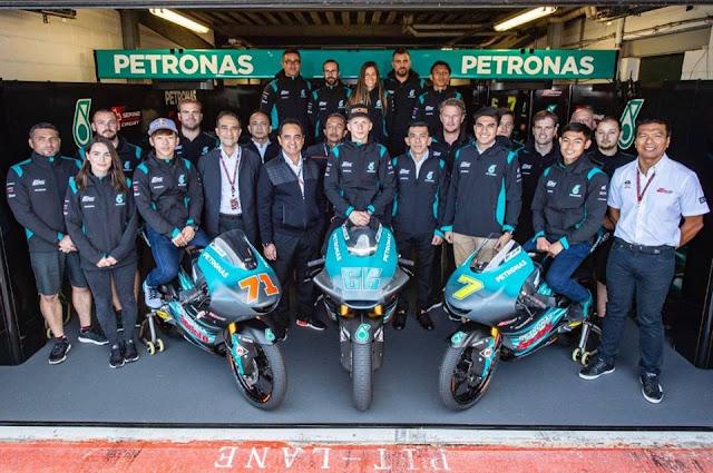 Petronas Yamaha Sepang Racing Rasmi Di Lancarkan Musim 2019