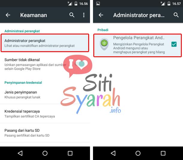 aplikasi android tidak bisa dihapus