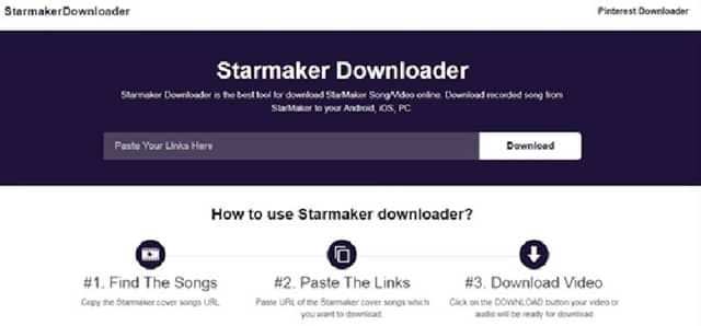 Download Starmaker Song