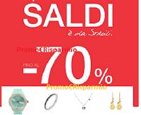 Logo Stroili : fino al 70% di sconto su tanti gioielli e orologi