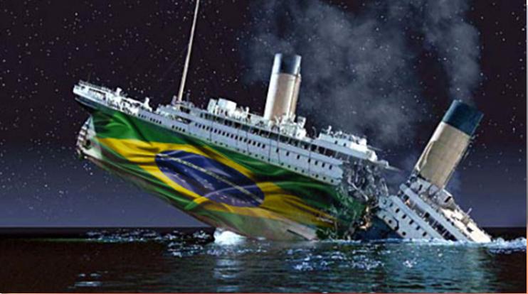 """A """"democracia"""" do Brasil está ameaçada pela censura e por plutocratas"""