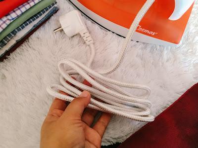 kabel setrika cosmos panjang hingga 1.8 meter