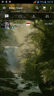 BBM Mod v2.13.0.26 - Water Fall