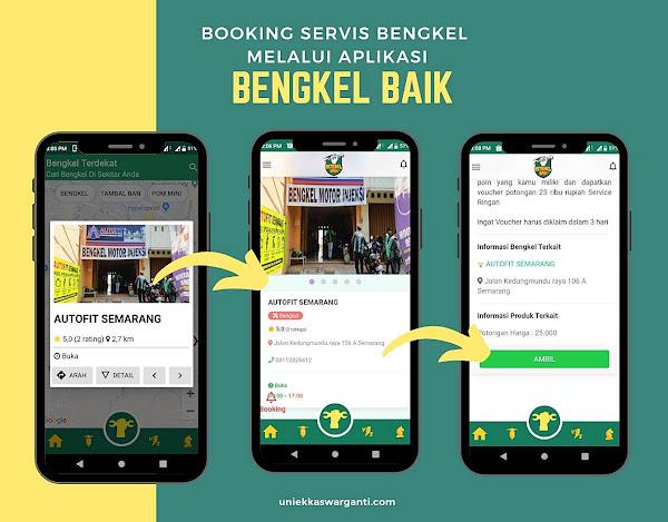 Heart of Mine Bengkel Baik, Booking Bengkel Motor Via