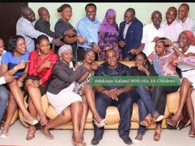 oga bello adebayo salami family and children
