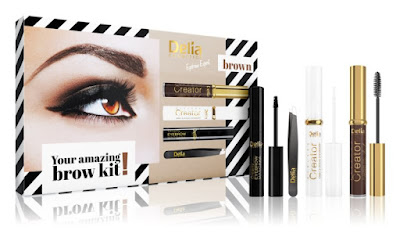 Delia Cosmetics Eyebrow Expert Brown