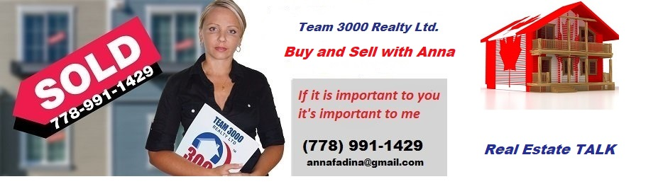Metro Vancouver and Fraser Valley Real Estate with Anna Fadina