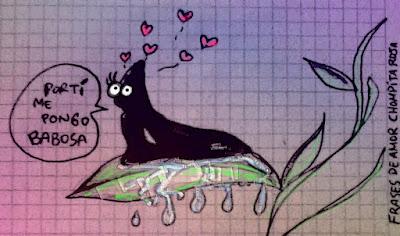 Frases de amor con imagenes de la babosa nova