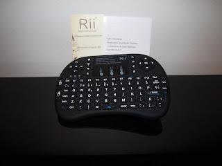 Análise Rii i8+ e Rii K02+ 3