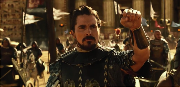 Christian Bale e Joel Edgerton no trailer do épico bíblico Exodus: Gods and King, de Ridley Scott