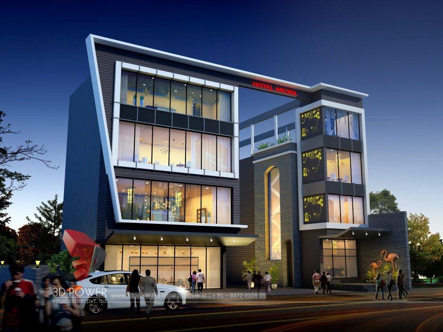3d animation 3d rendering 3d walkthrough 3d interior for Shopping mall exterior design