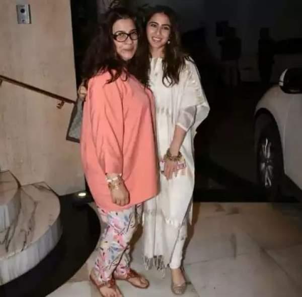 sara ali khan with amrita singh