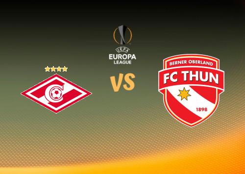 Spartak Moscú vs Thun  Resumen