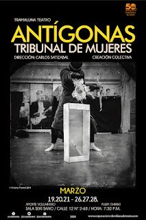 Obra Antígonas Tribunal de Mujeres | Teatro Sala Seki Sano