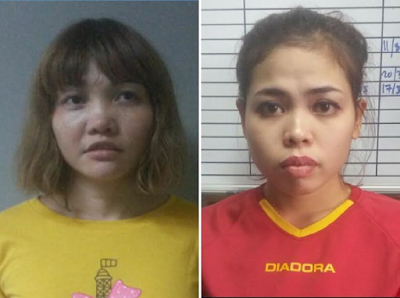 Two women to be charged with the murder of Kim Jong-nam